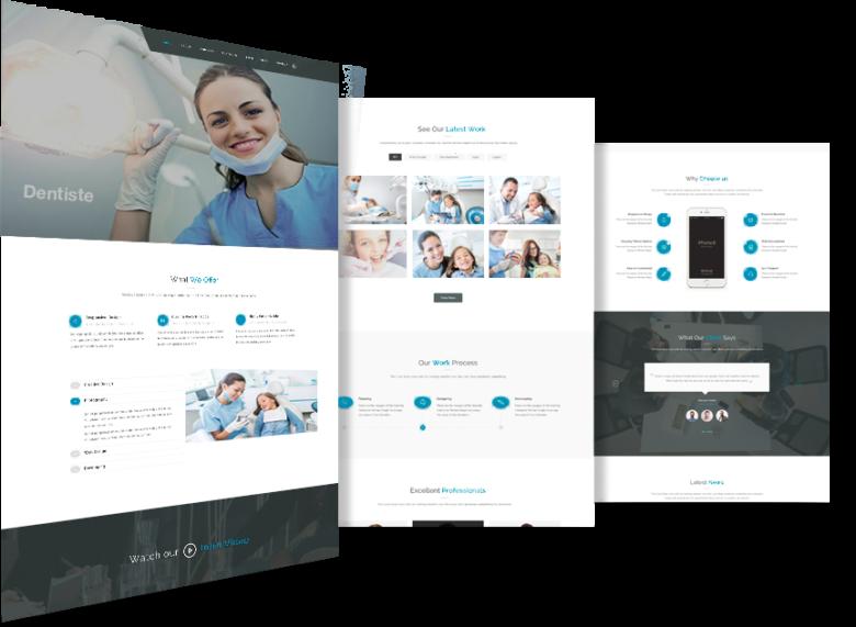 Société création site internet pour médecin
